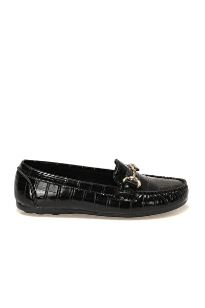 Butigo LENA 1FX Siyah Kadın Loafer Ayakkabı 101044383