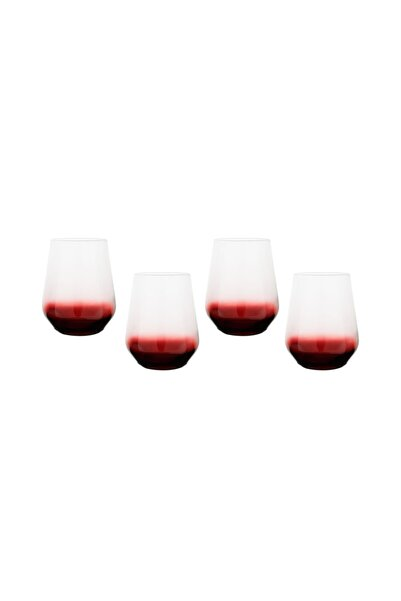 Mudo Concept Lora 4lü Meşrubat Bardağı Seti -bordo 425ml