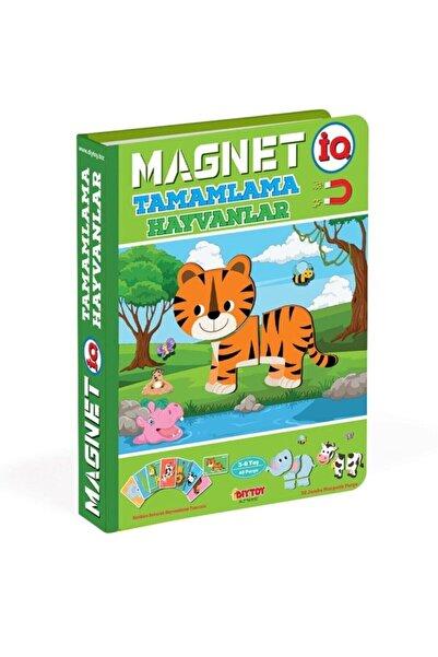 DIYTOY Magnet Hayvan Tamamlama Manyetik Puzzle