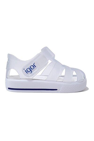 IGOR Star Çocuk Sandalet Beyaz