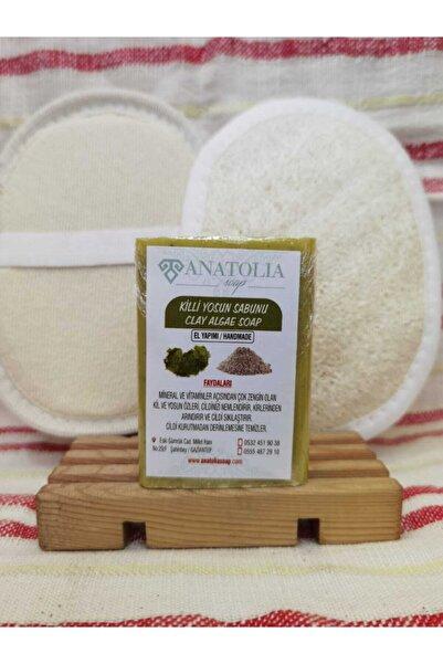 Anatolia Soap Killi Yosun Sabunu, Kabak Lifi Vücut,