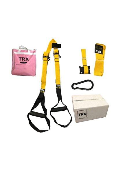 TRX 5 Parça Eğitim Seti Eğitim Seti  Yarı Profesyonel Kit Egzersiz Aleti