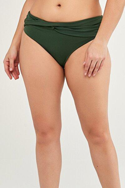 Penti Yeşil Basic Twist Bikini Altı
