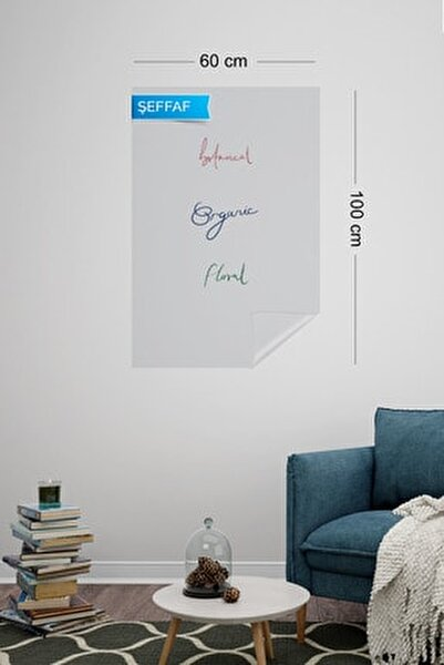 Şeffaf Akıllı Kağıt ) 60 X 100 cm