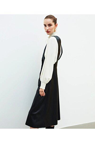 İpekyol Deri Elbise
