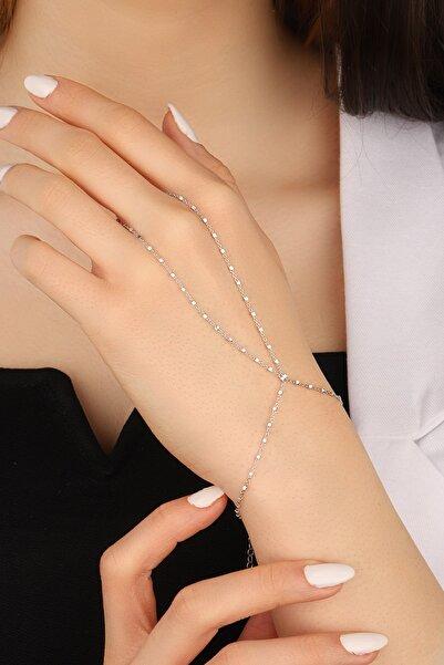 Lia Berto Kadın Küp Zincir 925 Ayar Gümüş Şahmeran