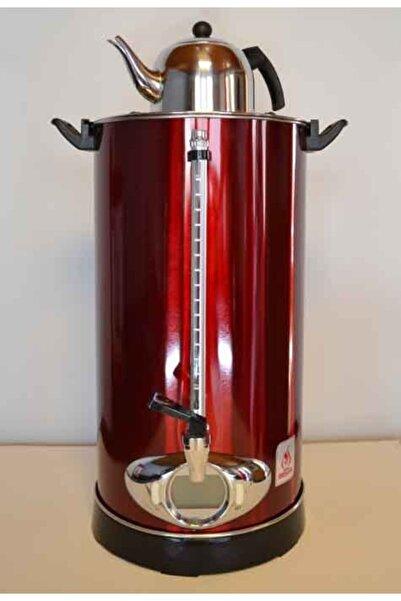 MEŞALE ÇAY KAZANI Kırmızı Dijital Çay Makinası 20 lt  Demlik