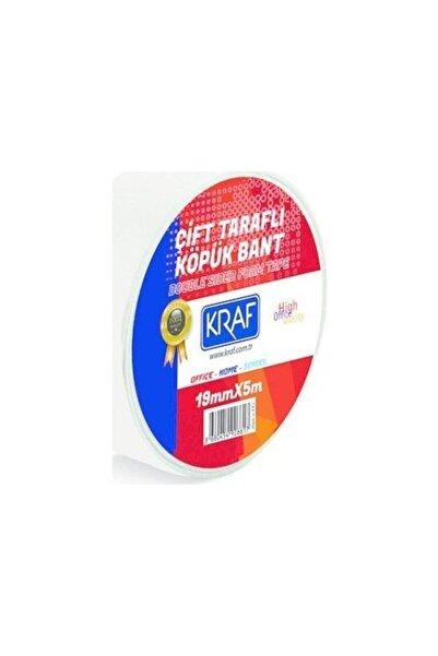KRAF Çift Tarafli Köp��k Bant 19mmx5m 5019g