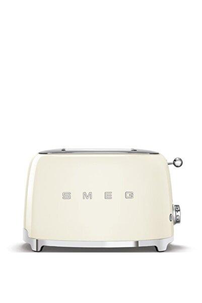 SMEG Beyaz Tsf01creu Retro Krem 2x2 Slot Ekmek Kızartma Makinesi