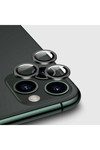 zore Iphone 12 Pro Max Kamera Lens Koruyucu Silver