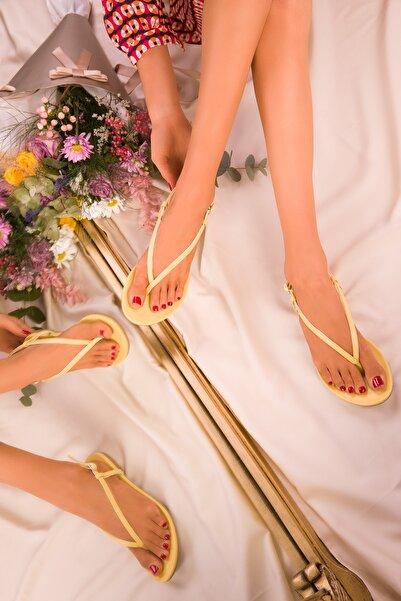 SOHO Sarı Kadın Sandalet 15921