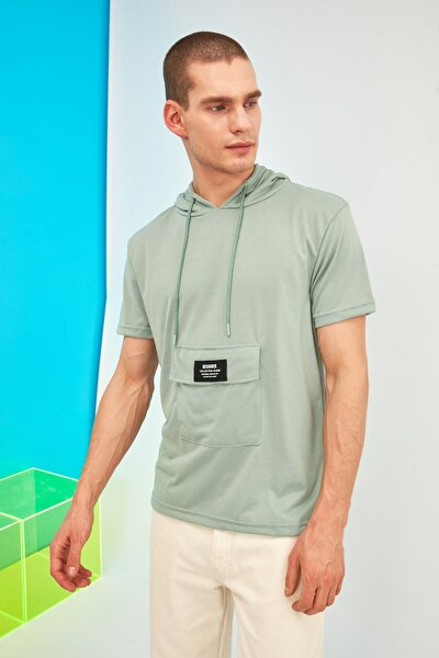 TRENDYOL MAN Min Erkek Regular Fit T-Shirt TMNSS21TS1723