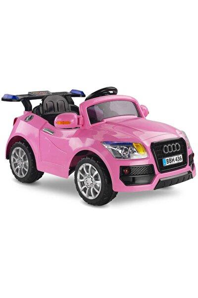BabyHope 436 Akülü Araba Audi Pembe