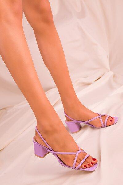 SOHO Lila Kadın Klasik Topuklu Ayakkabı 15939