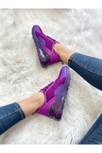ELSESHOES Kadın Mor Spor Ayakkabı