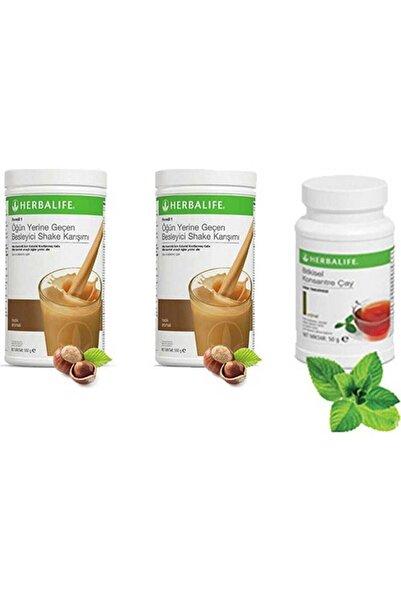 Herbalife 2 Adet Fındıklı Shake 50 gr Klasik Çay