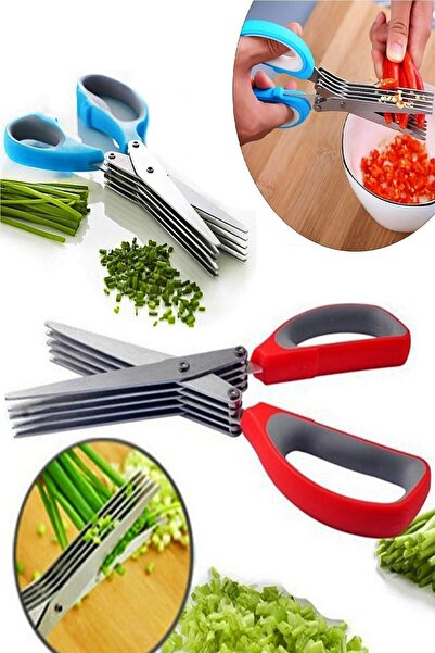 Nova Casa Çoklu Doğrama Makası, Sebze Makası, Sebze Meyve Kesme Doğrama Makası