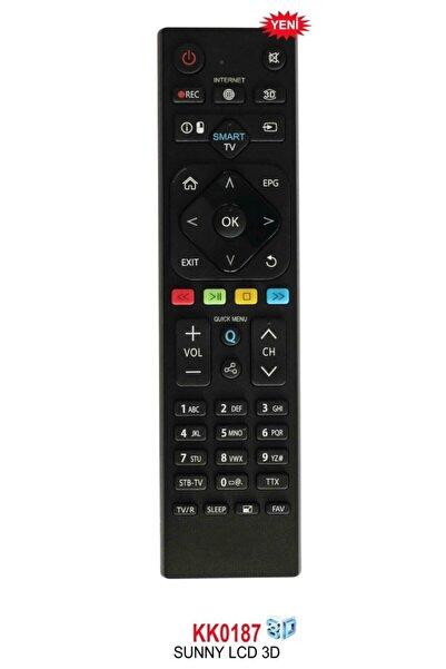 Axen Sunny Rm-l265 Smart Tv Tuşlu Lcd-led Tv Kumanda (rc0265-082019034)