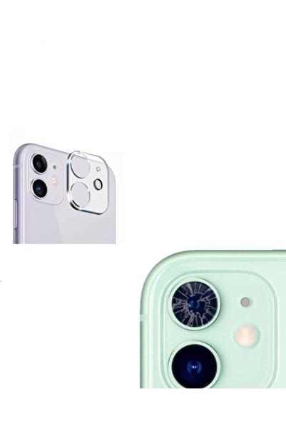 Go Aksesuar Iphone 11 Uyumlu Kamera Lens Koruyucu