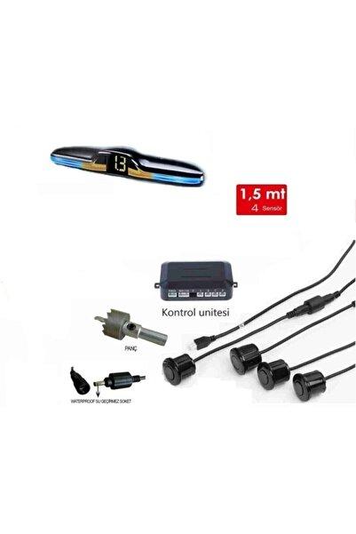 Mfk Park Sensörü Led Göstergeli 3 Renkli **yeni Ürün** Beyaz