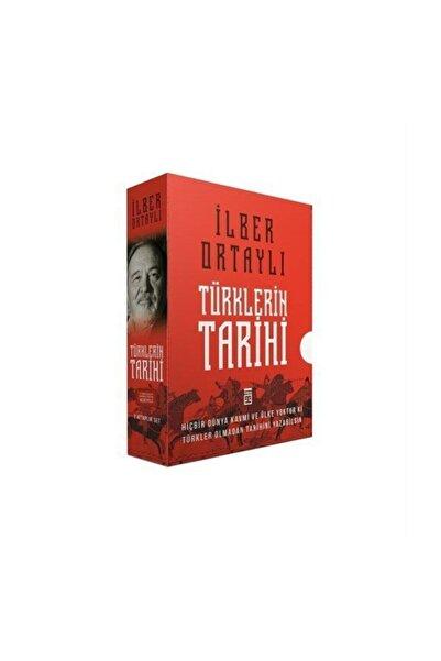Timaş Yayınları İlber Ortaylı Türklerin Tarihi Kutulu Set (2 Kitap)