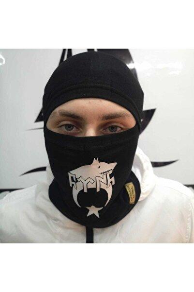 Silyon Askeri Giyim Termal Kar Maskesi Göktürk Ve Kurt Başı Baskılı