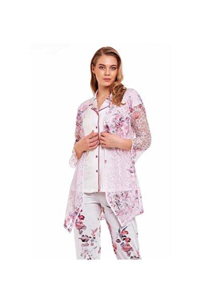 Marilyn Pijama Marilyn 30310 Kadın 3'lü Sabahlıklı Pijama Takım