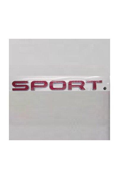 Land Rover Sport Bagaj Yazısı Kırmızı Rrs 2014 Sonrası 000przm18122