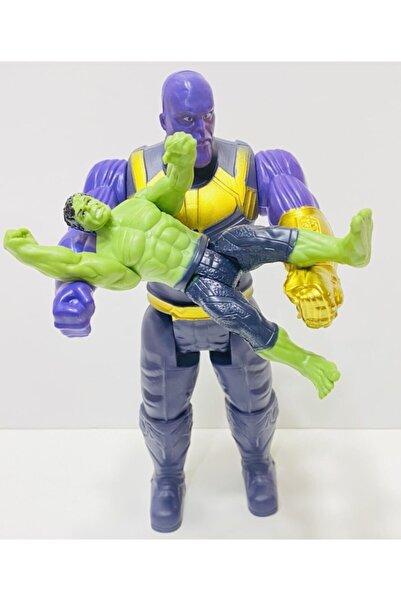 AVENGERS Thanos Ve Hulk Figür Oyuncak 2 Li Set Kahramanlar