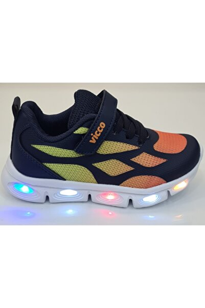 Vicco Erkek Çocuk Işıklı Günlük Spor Ayakkabıları 346p21y115