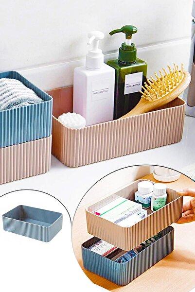 Helen's Home Banyo Mutfak Düzenleyici Plastik Geniş Kutu 20x14cm