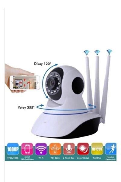 Brawi Gece Görüşlü Kablosuz Bebek Izleme Kamerası Wifi Ip Kamera