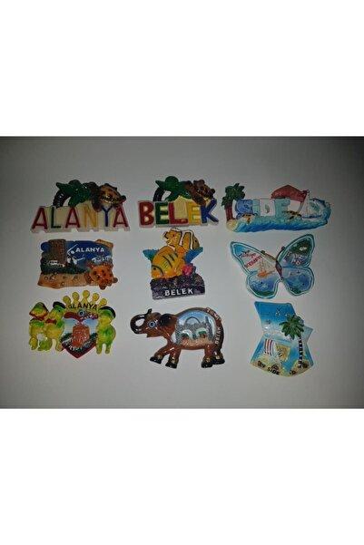 SHIVA Gift&More Alanya-side-belek Magnet  6 Adet