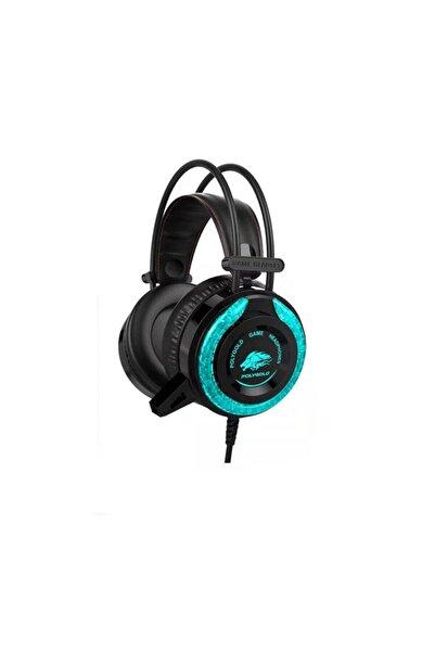 POLYGOLD A5 Gaming Mikrofonlu Oyuncu Kulaklığı Rgb 3.5 Mm Jack Pg 6921