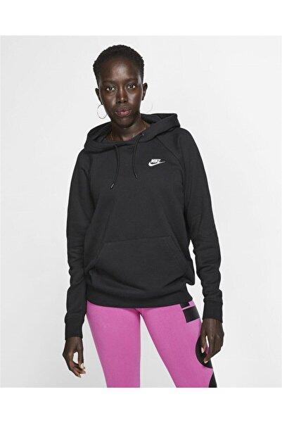 Nike Bv4124-010 Woman Nsw Essntl Hoodıe Po Flc Sweatshirt