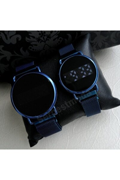 Spectrum Sevgili Saatleri Erkek Bayan Saat Kombini Dijital Saat Hasır Metal Kordon Çift Saatleri
