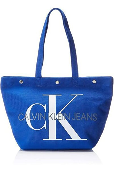 Calvin Klein Canvas Utılıty Ew Bottom Tote