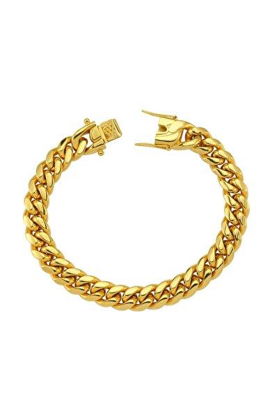 Luzdemia Curb Bracelet Gold / 10 Mm