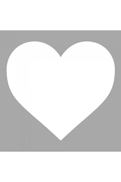 Artikel Ikon Kalp Stencil Tasarımı 30 X 30 Cm