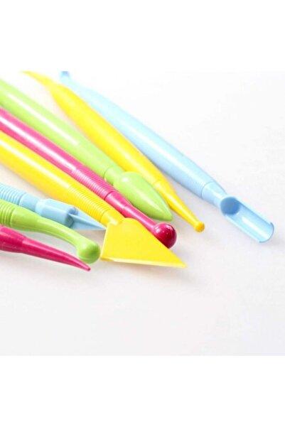 tmgrup 8'li Profesyonel Marzipan Set Renkli Şeker Hamuru