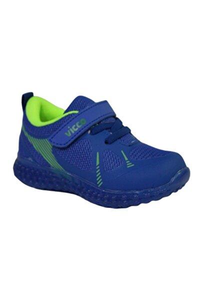 Vicco 313.p21y.105 Figo Saks Mavi AnatomikIşıklı Ayakkabı