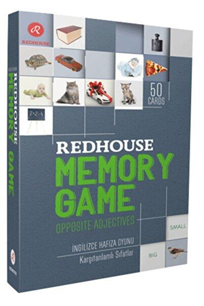 Kidz Redhouse Çocuk Kitapları Redhouse Memory Game - Opposite Adjectives