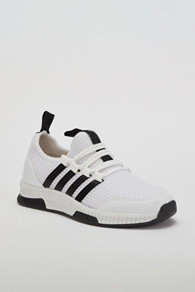 MUGGO Erkek Beyaz Sneaker Ayakkabı Mgforce01