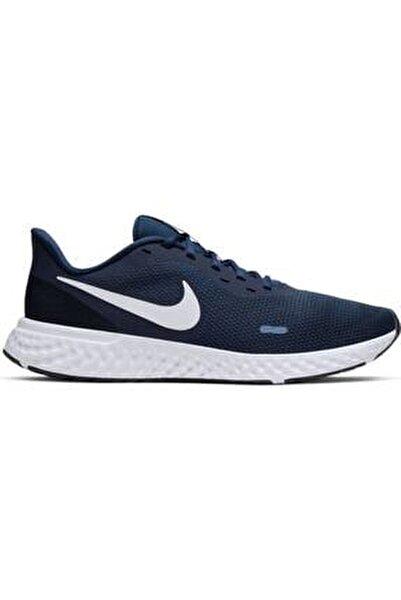 Erkek Lacivert Revolutıon Spor Ayakkabı 5 Bq3204-400