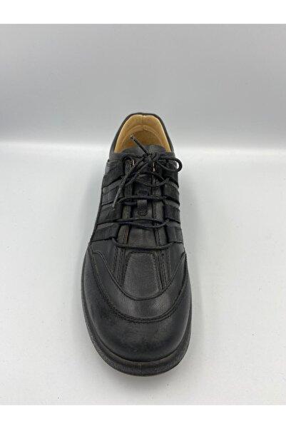 Esse Erkek Hakiki Deri Klasik Ayakkabı Siyah