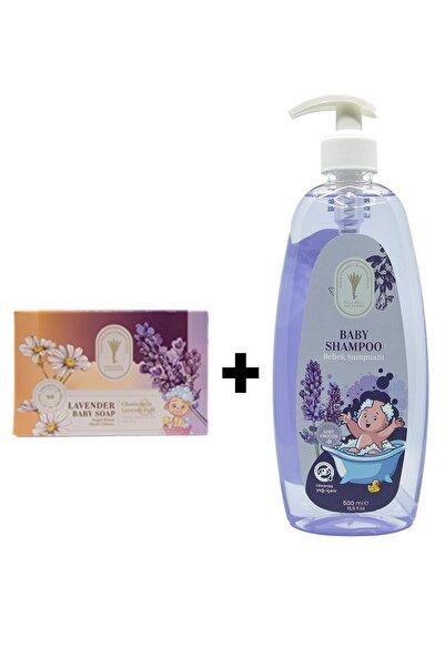 Gallipoli Lavender Doğal Bitkisel Lavanta Yağlı Bebek Şampuanı 500 ml ve  Bebek Sabunu 100 gr