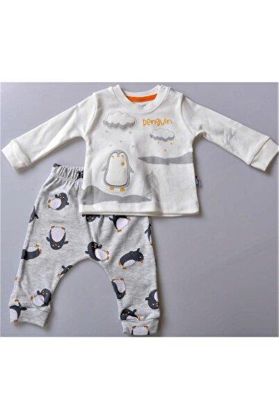Miniworld Erkek Bebek Çocuk Sevimli Hello Penguen 2 Li Takım 15394