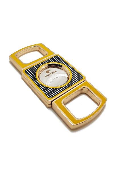 COHİBA Sarı Çelik Puro Makası Rb54