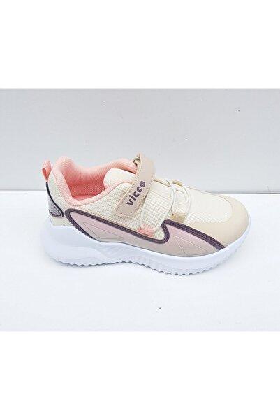 Vicco Kız Çocuk Bej Spor Ayakkabı
