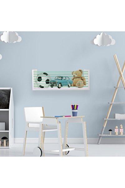 Ankaflex Montessori Duvara Monte Çocuk Oyuncak Sepeti